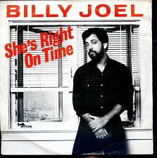 7inch BILLY JOEL she's right on time HOLLAND 1982 EX