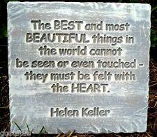 Helen Keller stepping stone memorial mold plaster concrete mould