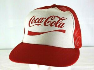 Coca Cola Red White Baseball Cap  Snapback