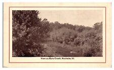 1912 Kyte Creek, Rochelle, IL Postcard