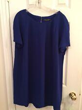 Dorothy Perkins Royal Blue Shift Dress Sz 16 / UK 20