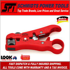 """KNIPEX 16 60 06 SB 5"""" Wire Stripping Tool for Coax and Data Cable"""