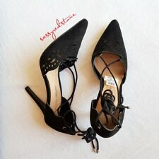 CHRISTIAN SIRIANO FOR PAYLESS LACE UP SHOES - SIZE 7 - BLACK