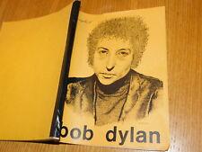 SONGBOOK livre des chansons titres de BOB DYLAN album CBS H.Schippor 1972 rock