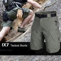 Men's Tactical Military Cargo Shorts Outdoor Hiking Camping Camo Short Pants