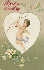 VALENTINE'S DAY – Cupid Has Bow and Arrow Valentine Greeting