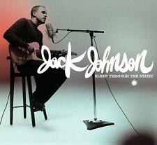 JACK JOHNSON - Sleep Through the Static (CD 2008) USA Digipak EXC