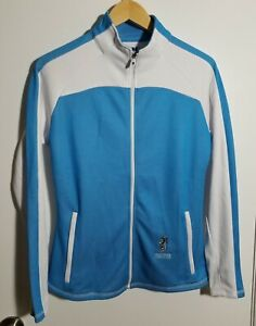 1 NWT FOOTJOY WOMEN'S JACKET, SIZE: SMALL, COLOR: WHITE/SURF (J265)