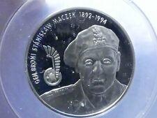 POLAND silver 10 Zlotych, 2003 MW, GEN MACZEK, ANACS PF 69 DCAM,