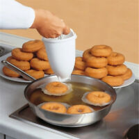 DIY Doughnut Maker Donut Dough Machine Manual Dispenser Utensil Kitchen Tool