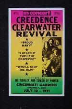 Creedence Clearwater Revival Tour Poster 1971 Cincinnati #1