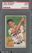 1952 Bowman SETBREAK #160 Eddie Stanky St. Louis Cardinals PSA 7 NM