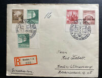 1938 Breslau Germany First Day Cancel Cover FDC To Berlin Sport Festival