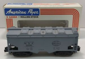 American Flyer 4-9206 S Scale New York Central Covered Hopper LN/Box