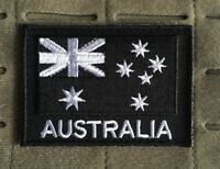 Australia, Australian Flag, Patch, Army, ADF, Black, Military, SAS, 2DO, Subdued