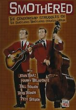 SMOTHERED THE CENSORSHIP STRUGGLES OF THE SMOTHERED BROTHERS COM NEW SEALED DVD