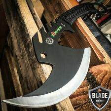 TACTICAL TOMAHAWK THROWING AXE  HATCHET CAMPING KNIFE HUNTING ZOMBIE SURVIVAL