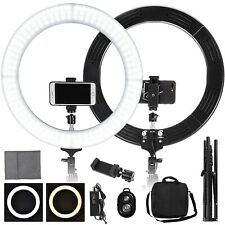 "19"" Dimmable Led Ring Light Studio Stand Lighting Kit Youtube Live Video Makeup"