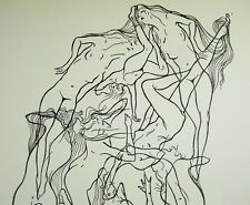 Ben GENAUX (1911-1996) amas pyramide tas de femme nues nude naked woman 64 cm