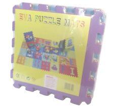 Eva Number Foam Puzzle Mat Alphabet Floor Play Jigsaw Interlocking Kids Block