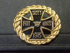 Pin Eisernes Kreuz 1915 Gott mit Uns - 3 x 3,5 cm
