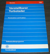 VW Passat B5 3B Golf 3 III 1H Bus T4 Verstellbarer Turbolader SSP 190 Bulli 1996