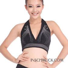 C91605 señora danza vientre opaca disfraz top belly Dance