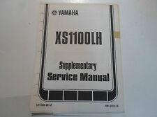 1981 Yamaha XS1100LH Supplementary Service Manual FACTORY OEM BOOK 81 DEALERSHIP