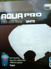 AQUAZONIC AQUA PRO BIO WOOL or AQUARIUM FOAM FILTER PAD 1800/2200
