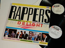 RAPPERS DELIGHT - Same / Orig.1987 Arcade Netherlands / Rare!  Double LP