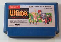 1987 Nintendo Ultima Exodus Famicom NES Video Game Cartridge Only Japan
