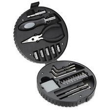 Wheel Tool Box/Case/Set age 5-15 NEW beginner tools: socket, allen, pliers, tape