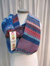 Écharpes et châles bleu avec des motifs Géométrique pour femme