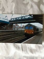 6x4 Photo of British Rail Class 66-66789 at Doncaster Railway Station