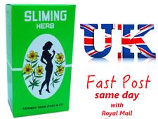 100 Bags GERMAN SLIMING HERB TEA Slimming Weight Loss calories burning Green Tea