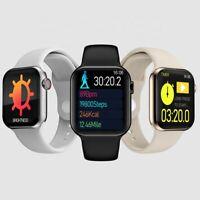 Smartwatch T100 Bluetooth Pulsuhr 2.5D IPS Display IP67 Wasserdicht iOS Android