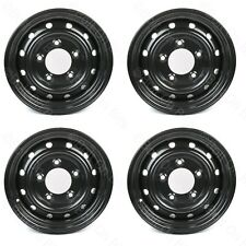 """4 16"""" Wolf Style Steel Wheels Land Rover Defender 90 110 Heavy Duty Military XD"""