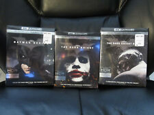 The Dark Knight Trilogy 3 Movie Set 4K Ultra HD + Blu-ray + Digital HD Batman