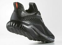ADIDAS ALPHABOUNCE B42746 Blackout ATHLETIC TRAINING RUNNING SHOES MENS Size 12