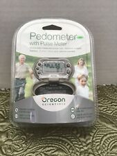 Oregon Scientific Pedometer With Pulse Meter New In Package