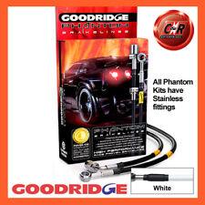 Honda Civic EK9 1.6 TypeR 97-00 S/S White Goodridge Brake Hoses SHD0010-4C-WT