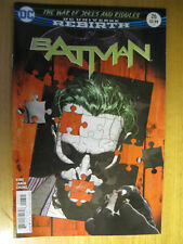 BATMAN REBIRTH #26. WAR OF JOKES AND RIDDLES. 1ST PRINT.