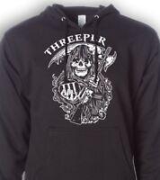 Threeper Hoodie - 3% er - Three Percenter - Gun Sweatshirt - Molon Labe