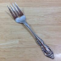 Oneida Brahms Stainless Cold Meat Serving Fork Pierced Community Flatware