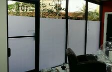 "Decorative Tint White Matte Frosted Window Privacy Film 60""x25' *Free Shipping!"