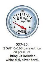 "Speco 2 5/8"" ( 66mm ) 100 Psi Electrical Oil Pressure Gauge P/N 537-20"