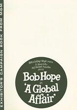 A Global Affair (1964) press book Bob Hope, Michèle Mercier, Elga Andersen