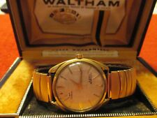 Waltham 21 Jewels Vintage  Men's Watch in Original Box