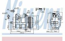 NISSENS Compresseur de climatisation 89081 - Pièces Auto Mister Auto