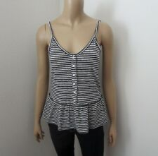 NEW Abercrombie & Fitch Womens Striped Tank Top Size XS Cami